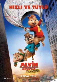 Alvin ve Sincaplar: Yol Macerasi (Türkcə)
